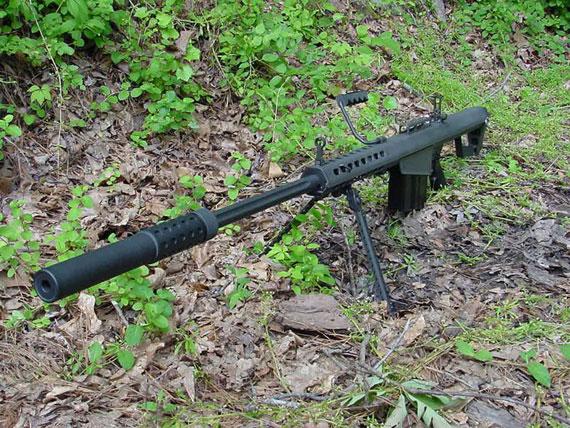 步枪:规避消音器的M82A1加装图文wow机动图纸狙击图片