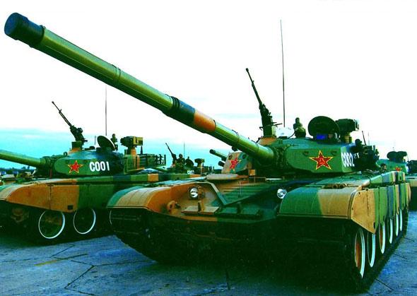 中国战虎:国产99式性能部分超越日俄90式坦克