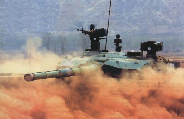 图文:99式坦克可靠性方面与世界水平还存在一定差距