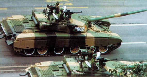 99式主战坦克总体布局及武器系统(图)