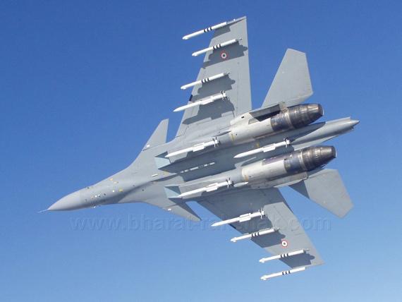 图文:印度空军苏-30mki战斗机