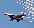 上合军演参演部队庆祝俄空军成立95周年