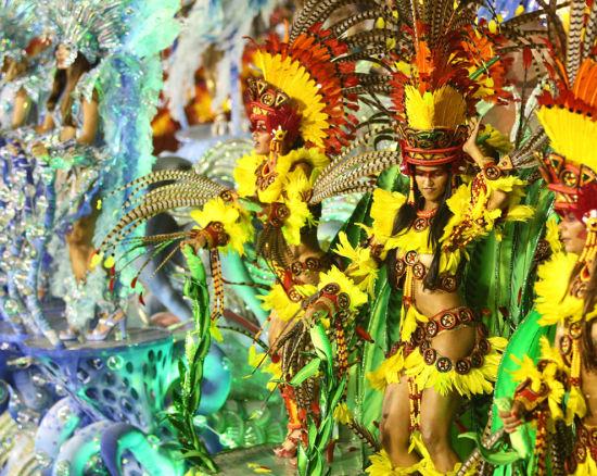 色彩斑斓的狂欢节