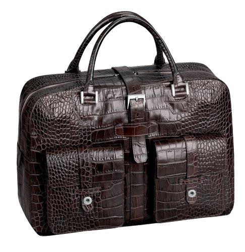 奢华拍品:Dunhill手提式旅行包(图)
