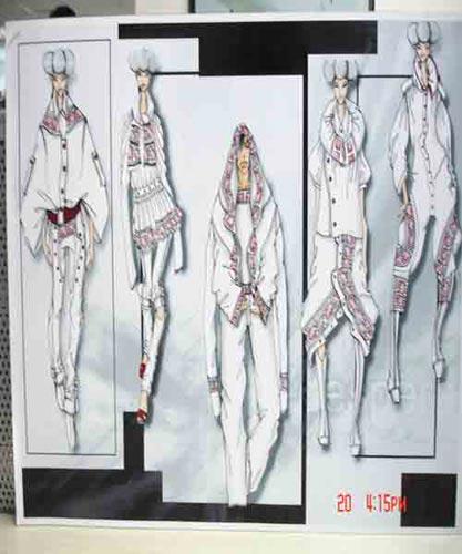 服装设计比赛作品_福海之窗