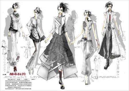 中国国际服装设计大奖赛入围选手及作品-魏广乐(图)