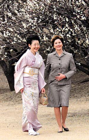 日本首相家的和服美人(图)