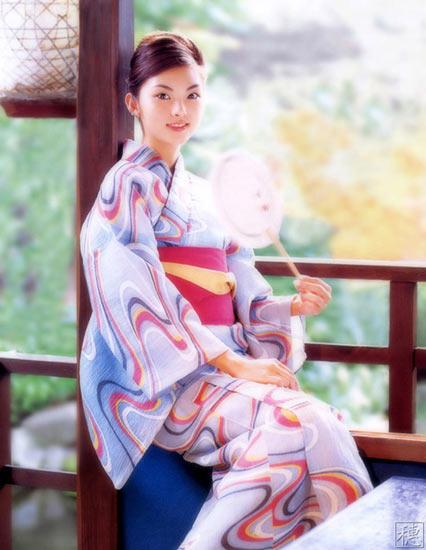 性感:日本美女和服组图性感秀(8)灵明星灵八图片