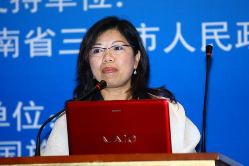 2007美丽经济论坛叶惠敏主题演讲(图)
