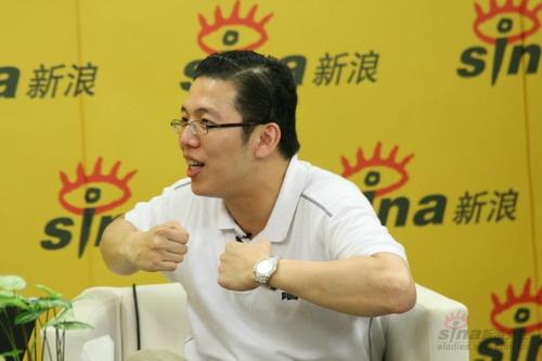 8月15日19时新浪网主持人马骧(blog)特邀广告人侯兴祖做客新浪原创