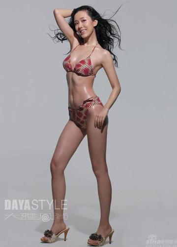 颜丹晨比基尼秀美腿(组图)(3)_新浪女性_新浪网