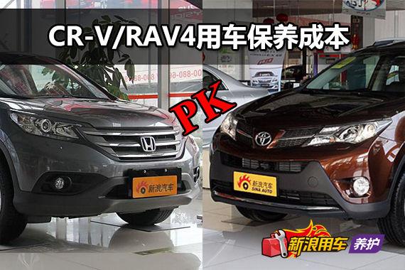 本田CR-V/丰田RAV4 用车成本解析第40期