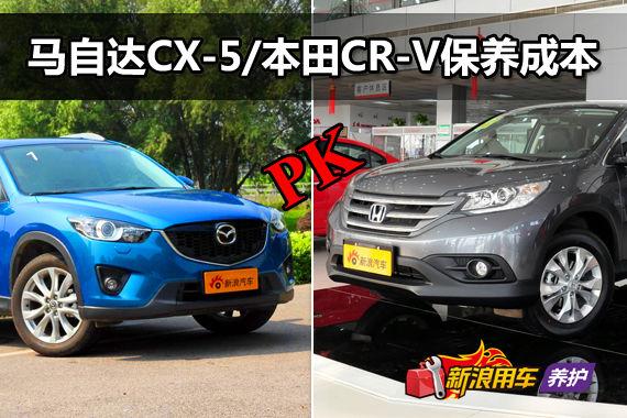 马自达CX-5/本田CR-V 成本解析第45期