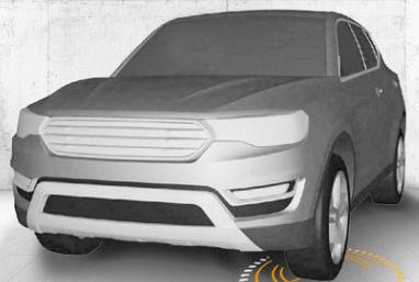 哈弗推大SUV明年上市 外形似丰田汉兰达