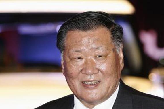 现代董事长郑梦九2013年薪酬1300万美元
