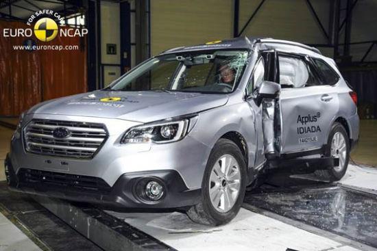 斯巴鲁傲虎获Euro-NCAP五星最高安全评级