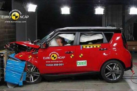 起亚秀尔获Euro-NCAP四星安全评级