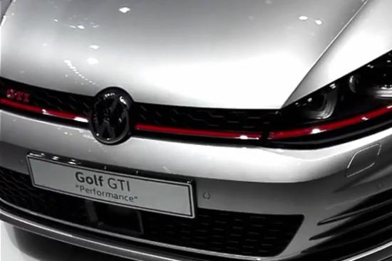 视频:胖哥带你看车展 第七代高尔夫GTI