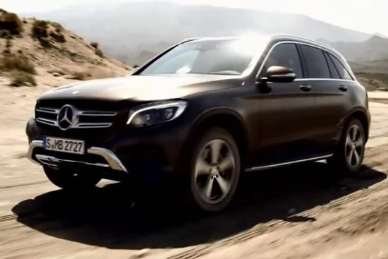 视频:中型SUV的标杆 2016款奔驰GLC