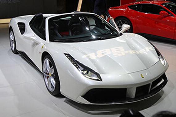 视频:2015广州车展必看车型法拉利488