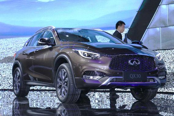 视频:广州车展必看车型之英菲尼迪QX30