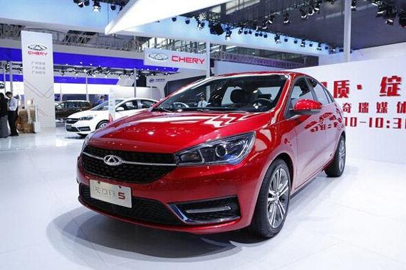 视频:广州车展热点新车之奇瑞艾瑞泽5