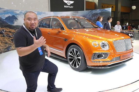 视频:广州车展原创说车Mr.B侃天价豪车