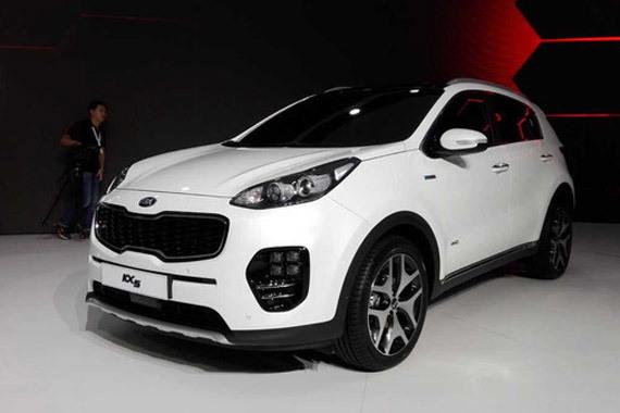 视频:广州车展热点新车之国产起亚KX5