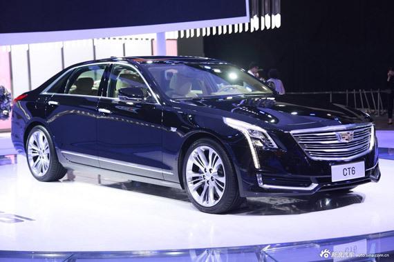 视频:广州车展热点新车之凯迪拉克CT6
