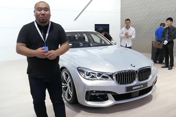 视频:广州车展原创说车Mr.B侃豪车(2)