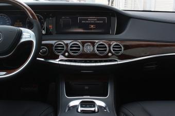 2015款奔驰S400L到店实拍