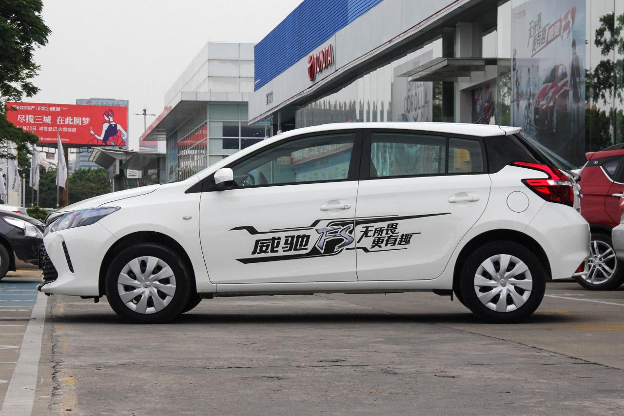 2017款威驰FS 1.5L手动锋驰版