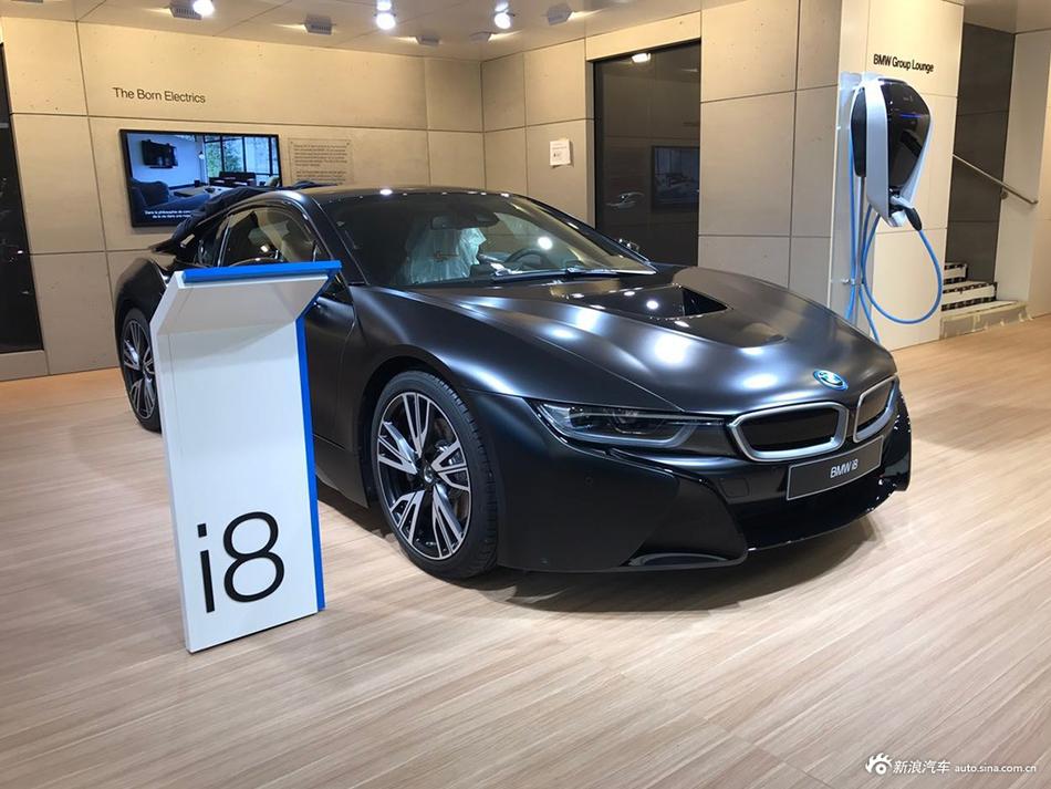 2017日内瓦车展探馆:宝马i8特别版