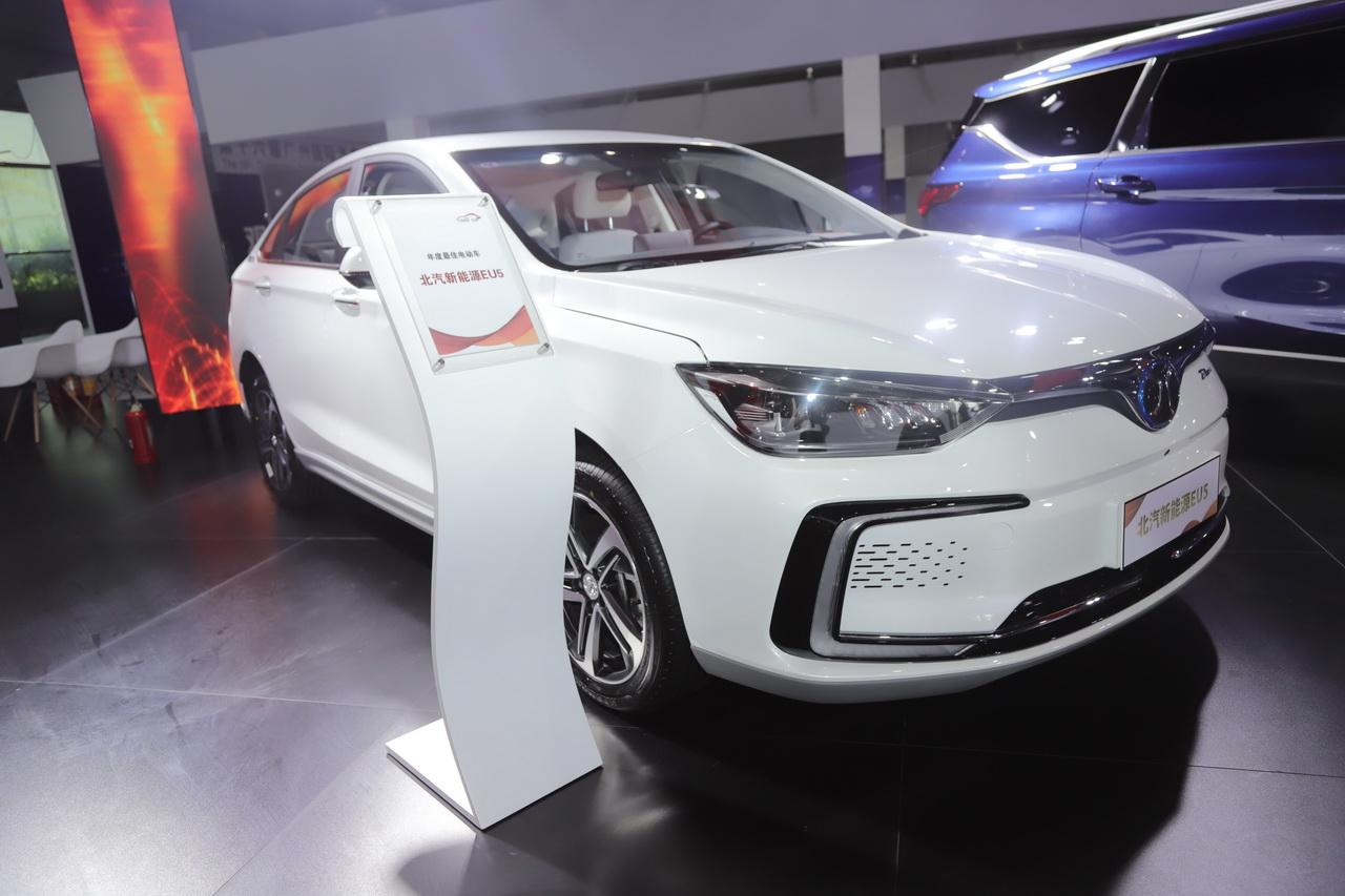 2018广州车展实拍:北汽新能源EU5