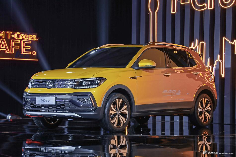 大众最新SUV全球首秀 实拍上汽大众T-Cross