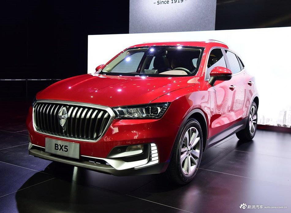 德系车迷新选择 宝沃BX5将上市 家族新成员
