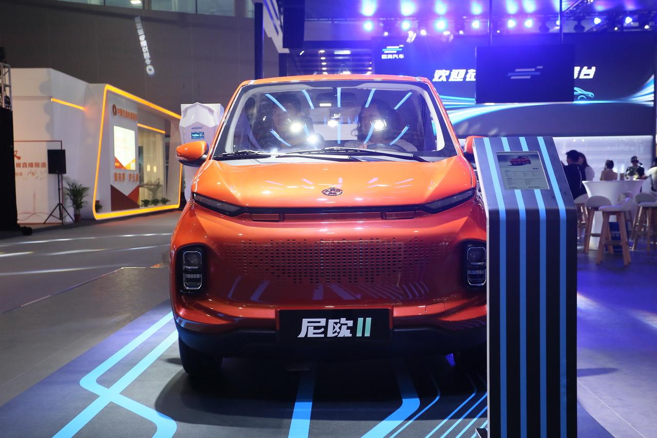 2018广州车展实拍:尼欧Ⅱ新能源