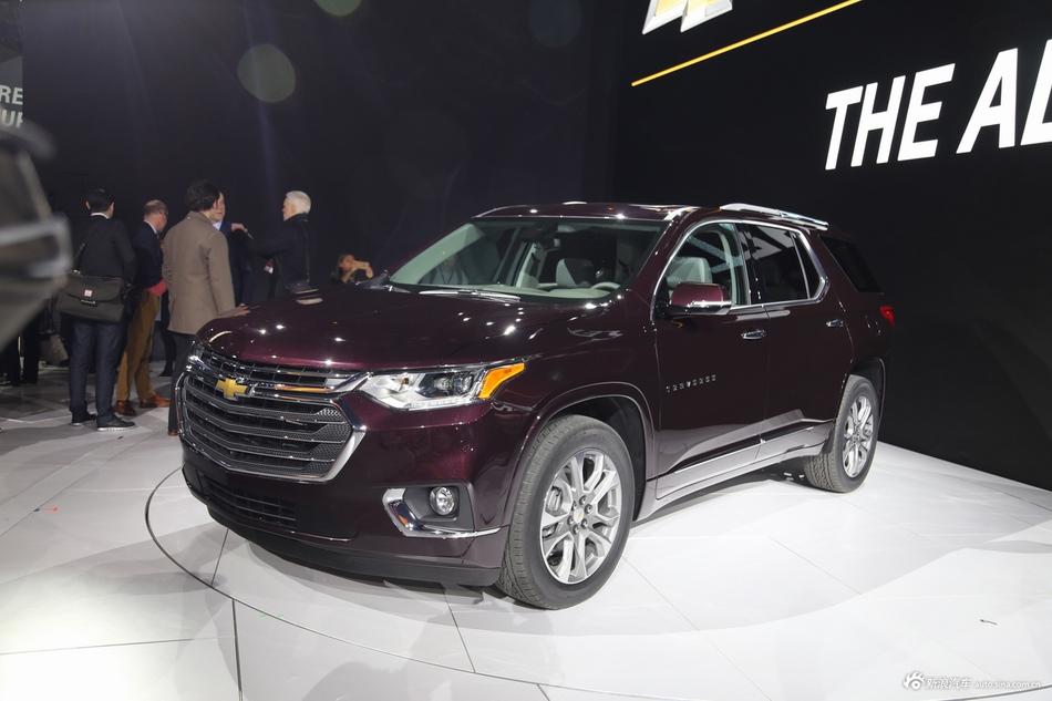 美式大7座SUV宣战宝马X5 全新Traverse发布