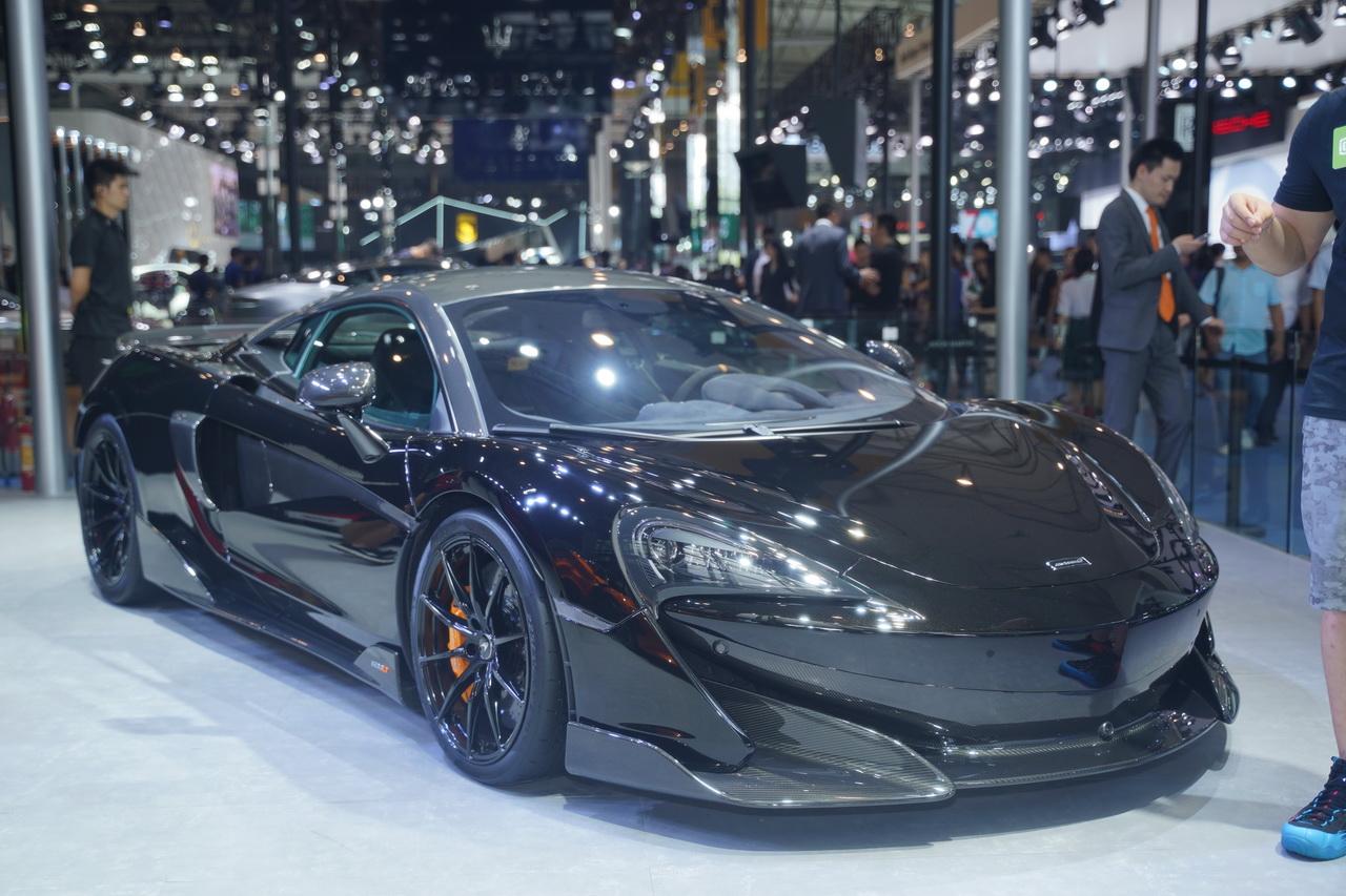 2018成都车展实拍:迈凯伦600LT
