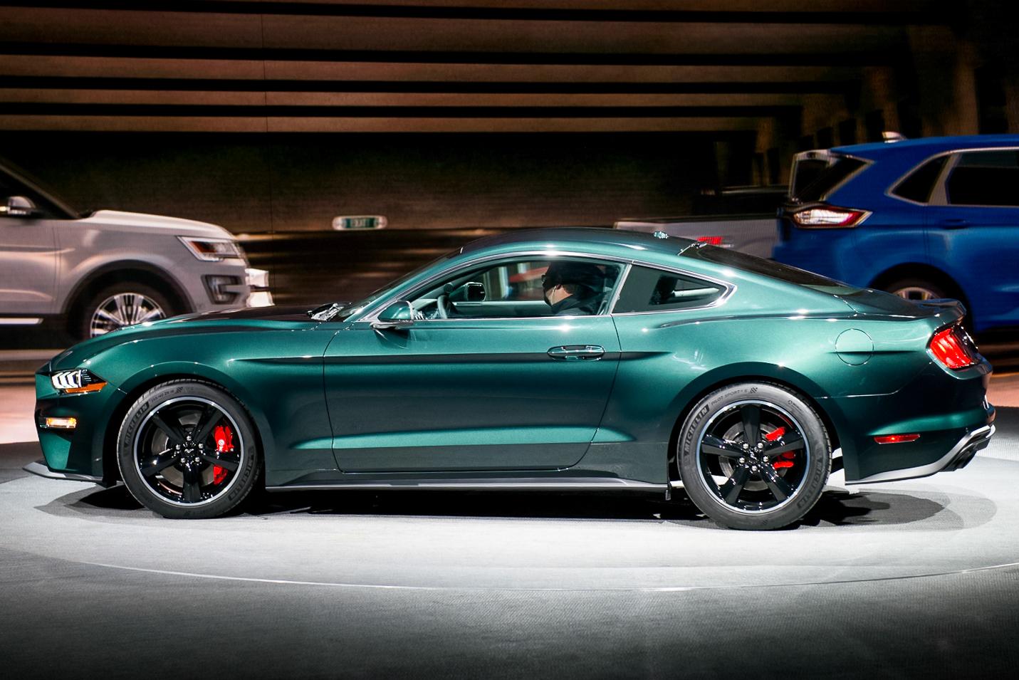 北美车展:Mustang Bullitt特别版发布 回归经典