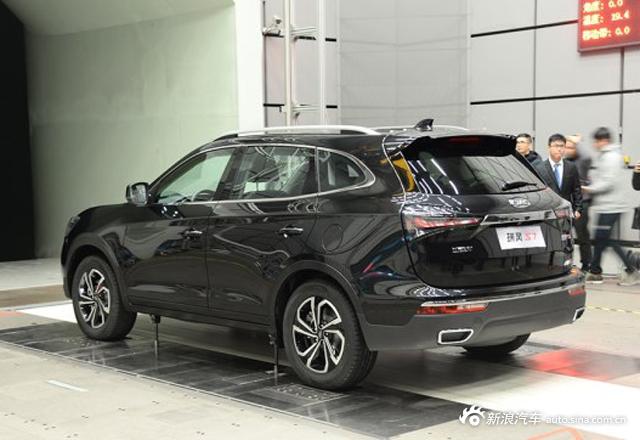 江淮瑞风S7实车正式亮相