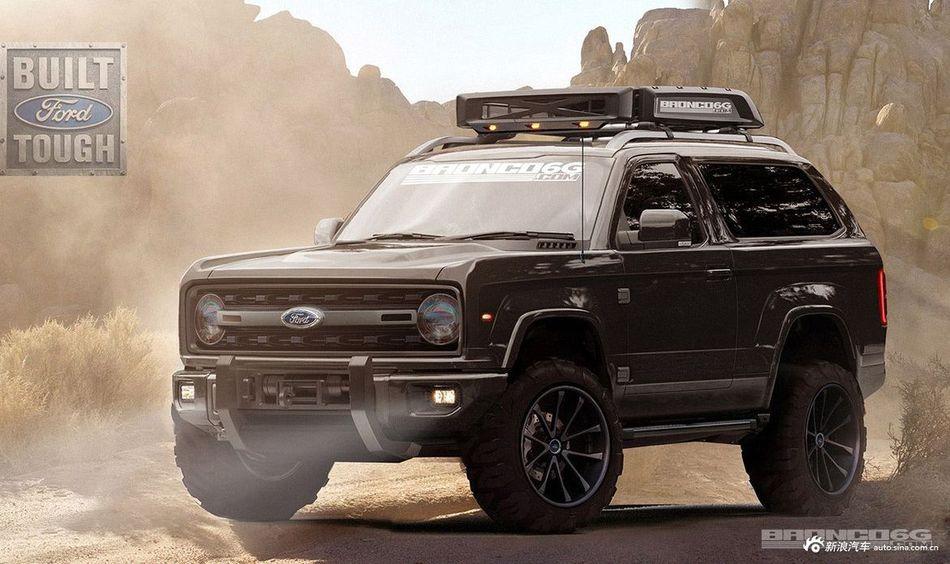 牧马人的对手来了!福特将重启Bronco