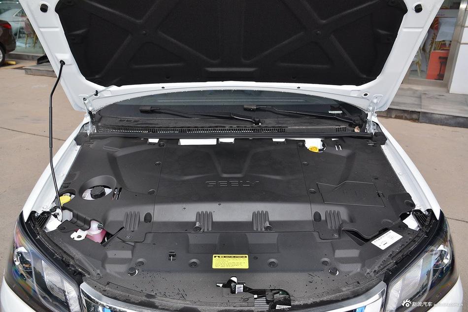 2016款吉利帝豪EV三厢精英型 白色