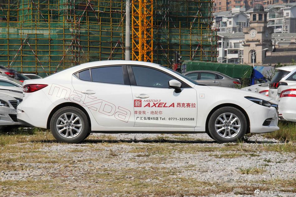 家庭第一辆车首选它,马自达昂克赛拉成交价10.06万起
