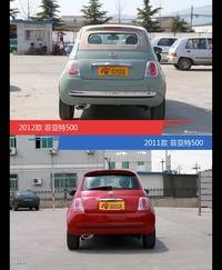 菲亚特500新老车型外观/内饰有何差异