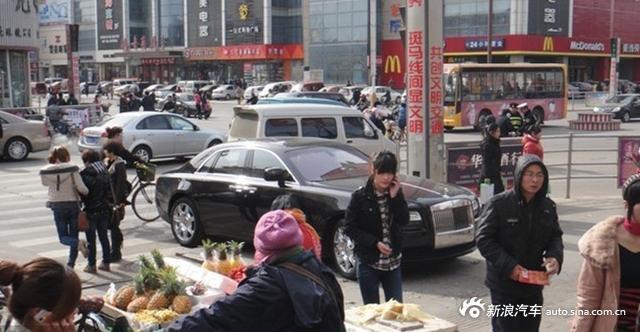 这个小县城宝马都是买菜车 超跑满地是