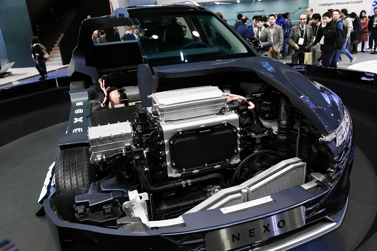 图集|现代氢燃料电池车Nexo发布