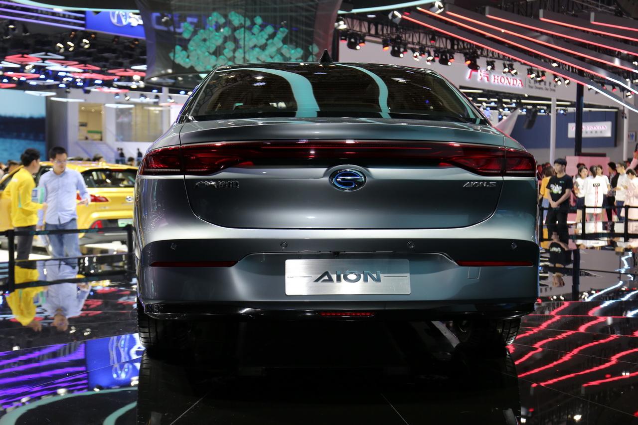 2018广州车展实拍:Aion S新能源