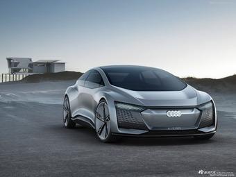法兰克福车展 奥迪全自动驾驶概念车Aicon