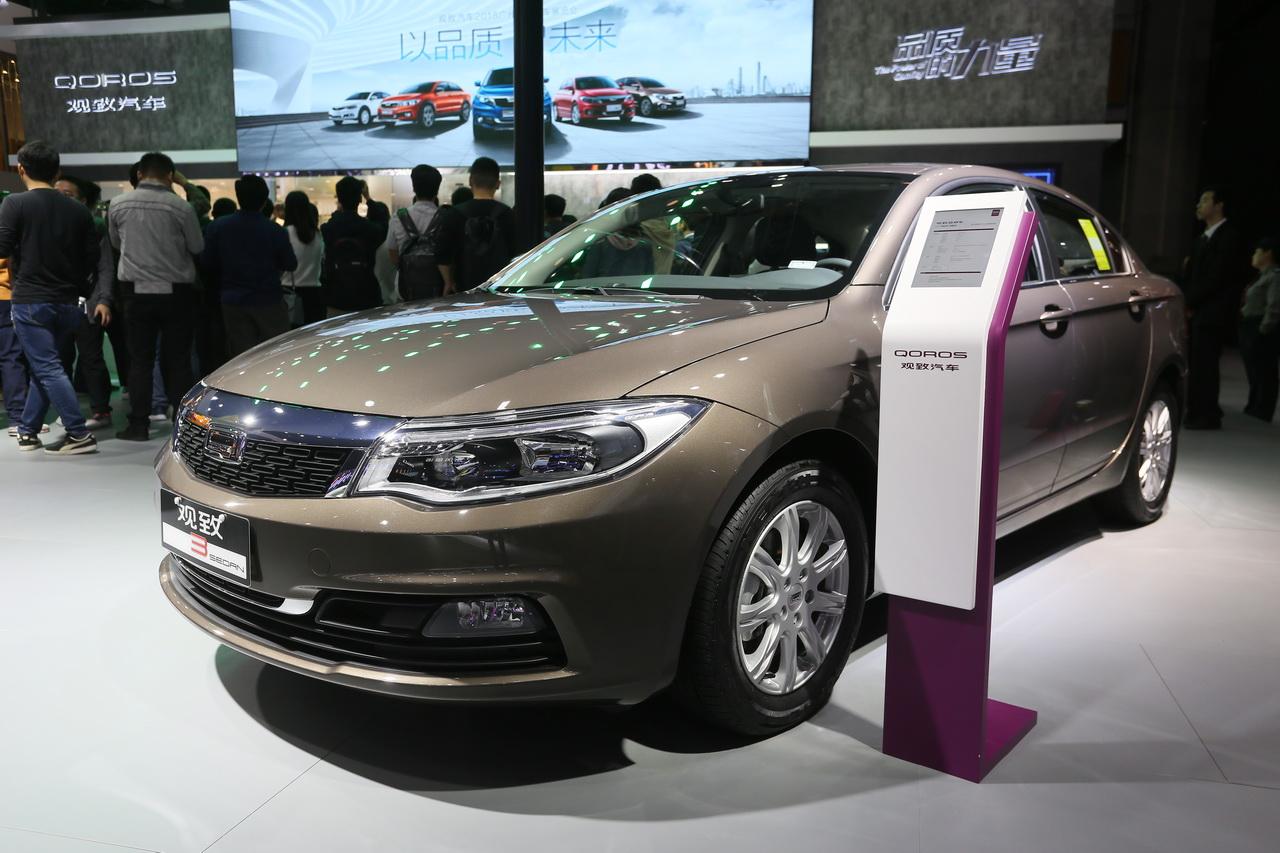 2018广州车展实拍:观致3